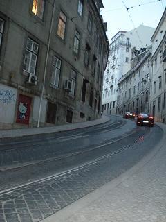 リスボン(トラムの道)