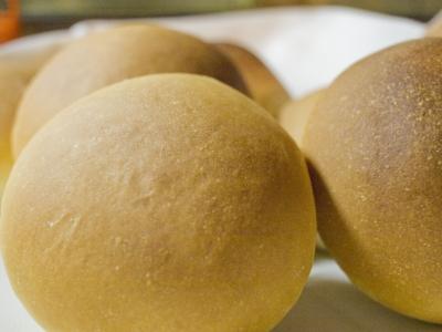 基本のパン完成