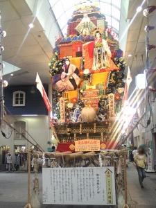 上川端(走る飾り山笠)