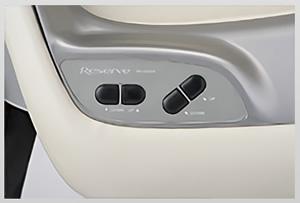 RS-001EX バックレスト・シートレスお好きな位置で調整できます