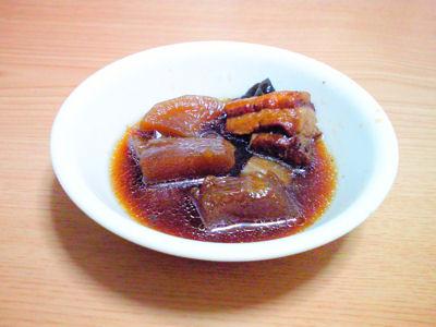 冬瓜入り豚の角煮