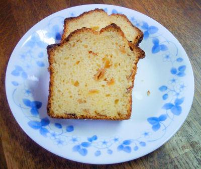 梅パウンドケーキ
