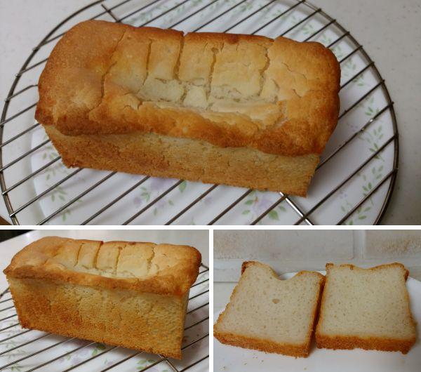 米粉食パン失敗