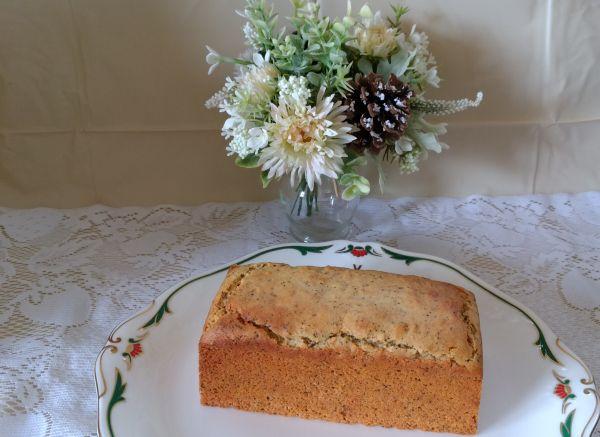 ロイヤルミルクティのパウンドケーキ