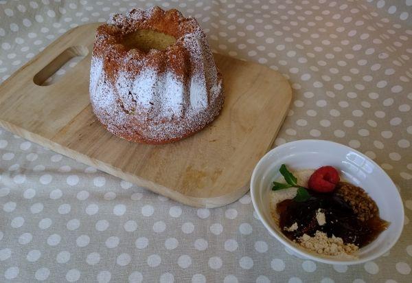 津久井きなこデザートと大豆と米糀のスイーツ粉で焼き菓子