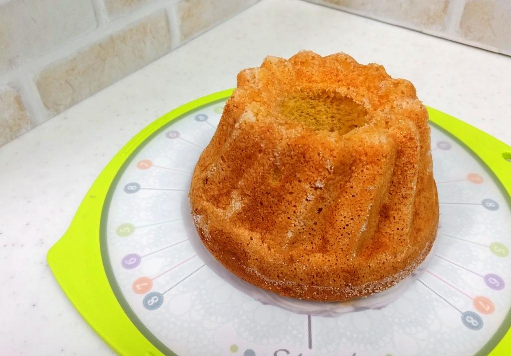 大豆と米糀のスイーツ粉のケーキ