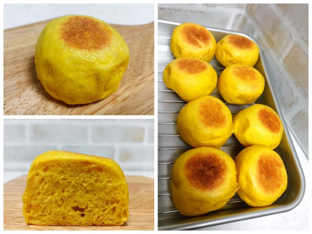 かぼちゃの丸パン
