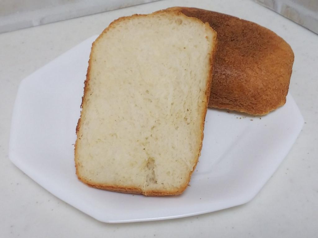 酒粕酵母で食パン