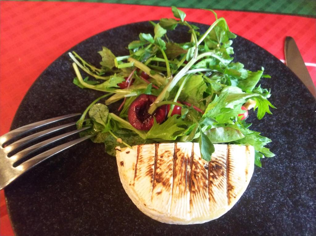 植木鉢のサラダ