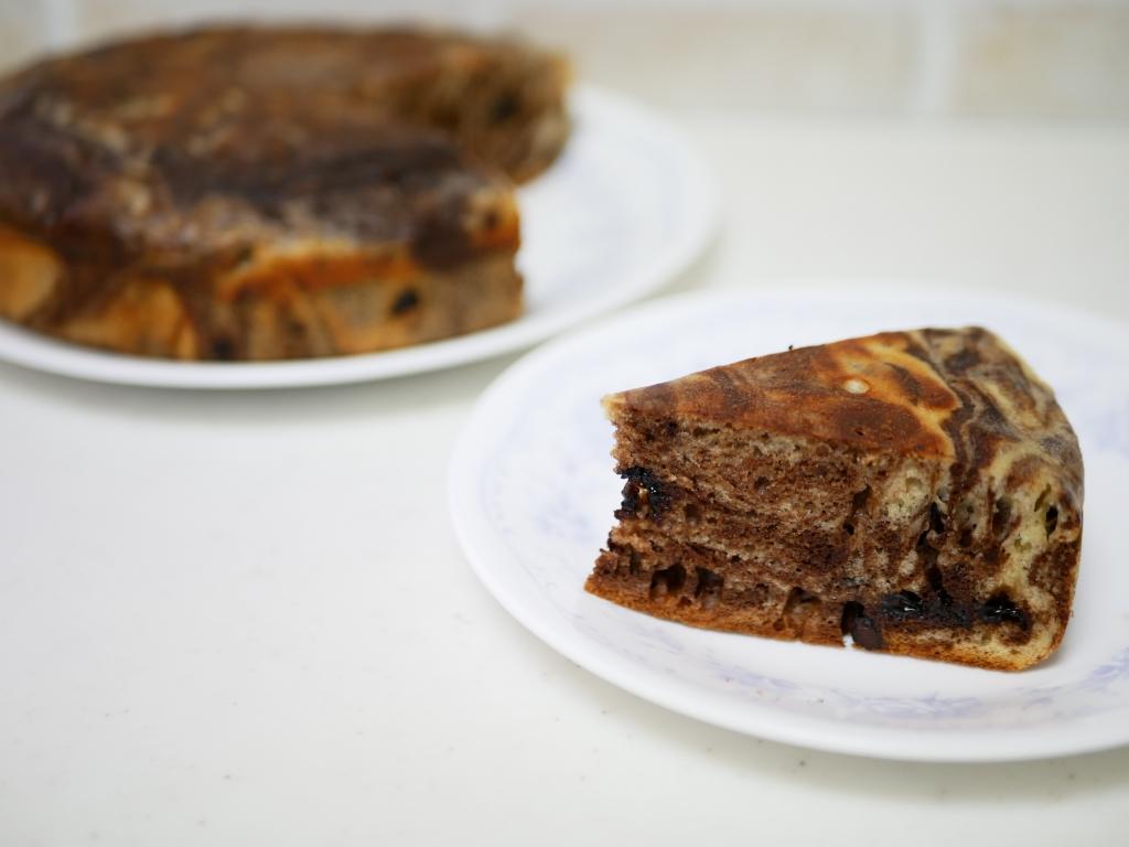 チョコマーブルケーキ