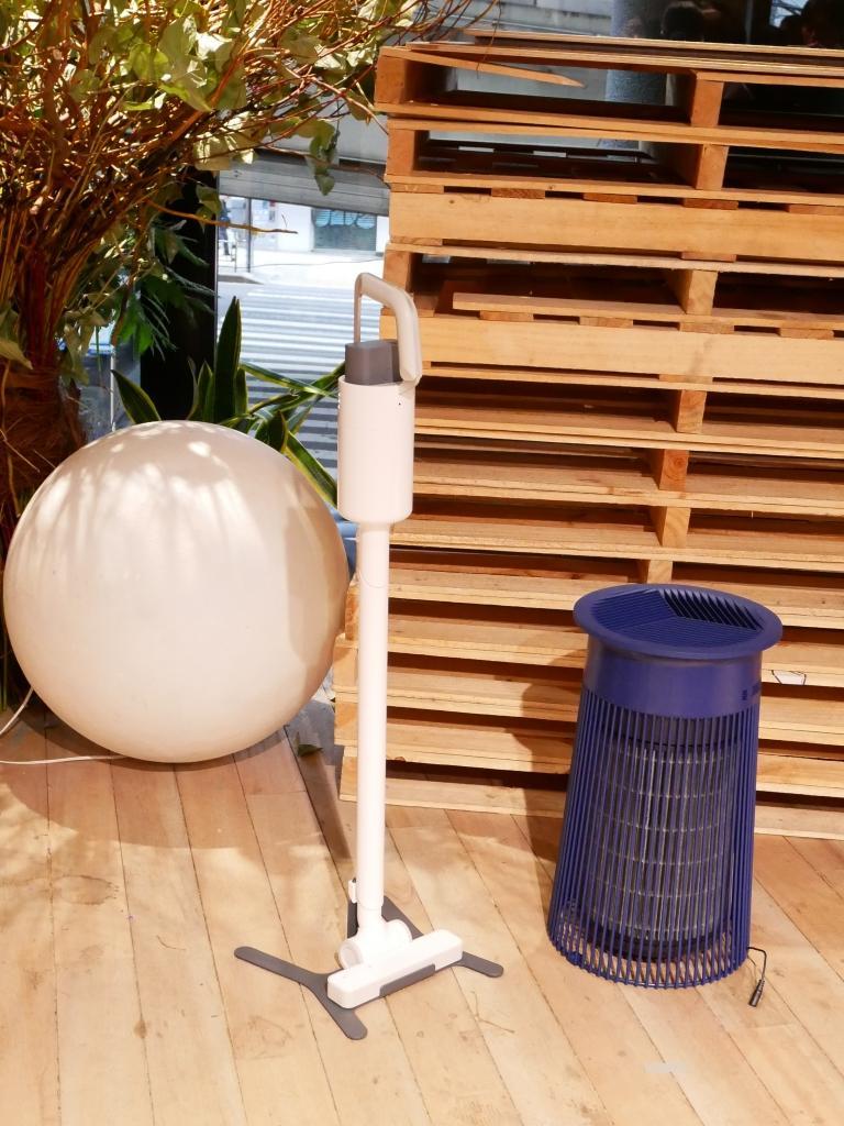 空気清浄機とコードレスクリーナー