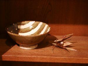 阿部誠灰釉小鉢