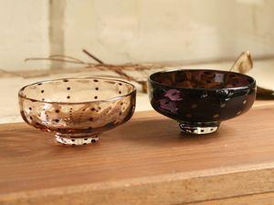 鈴木努 豆絞り柄小鉢