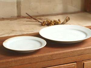 稲村真耶 氷結貫入釉5寸皿 7寸皿