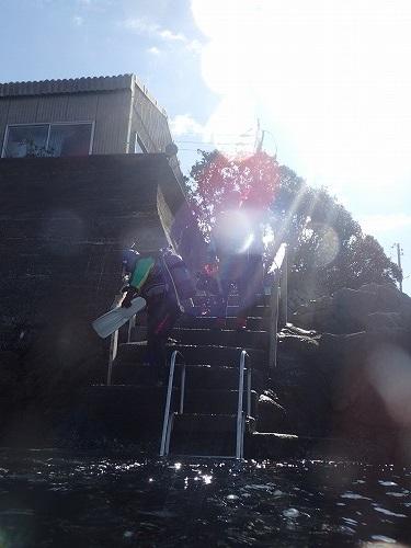 内浦ビーチ ダイビング