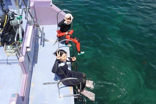 うぐる島 ダイビング