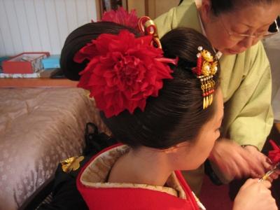 奈良 日本髪 ヘアメイク 成人式 結婚式