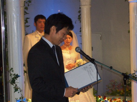 結婚式19