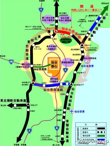 仙台都市圏環状ネットワーク