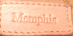 Memphis レザー(革)バックの修復