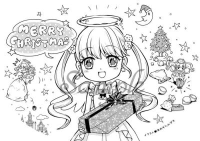クリスマスふうせん