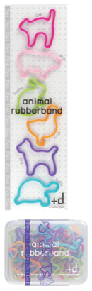 animal rubber band