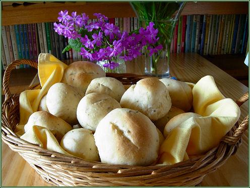 黒胡椒入りシンプルパン