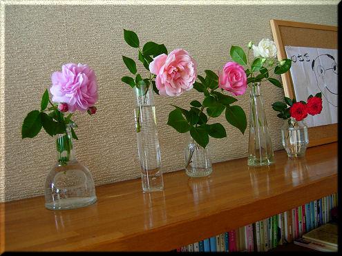 薔薇を飾る2