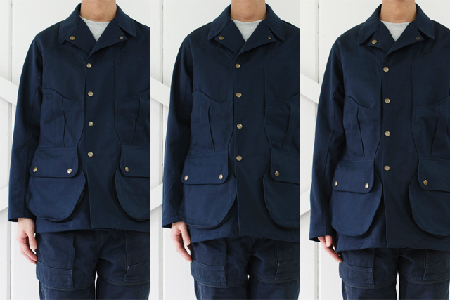 Senelier(セネリエ)PARIS 59 rivoli squater REVERSIBLE TOOLBOX JACKET