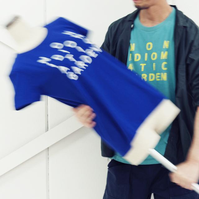 idiom(イディオム)NON IDIOMATIC GARDEN Tシャツ
