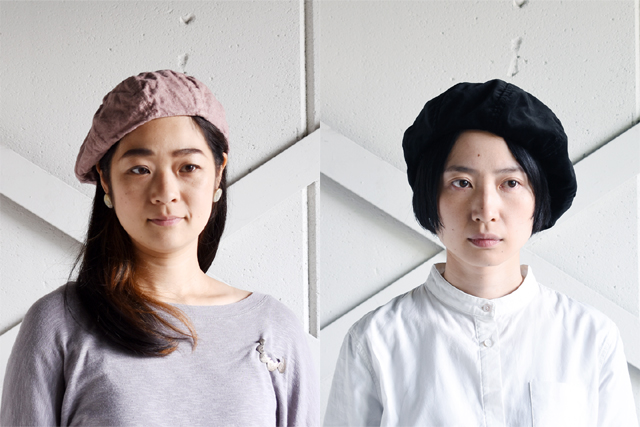 Decho(デコー)のベレー帽
