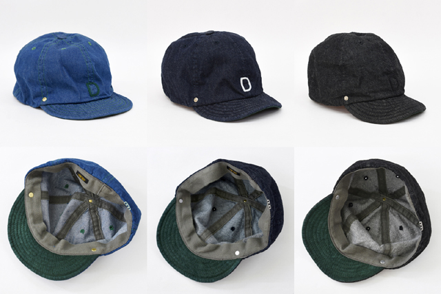 DECHO(デコー)BALL CAP -DENIM-