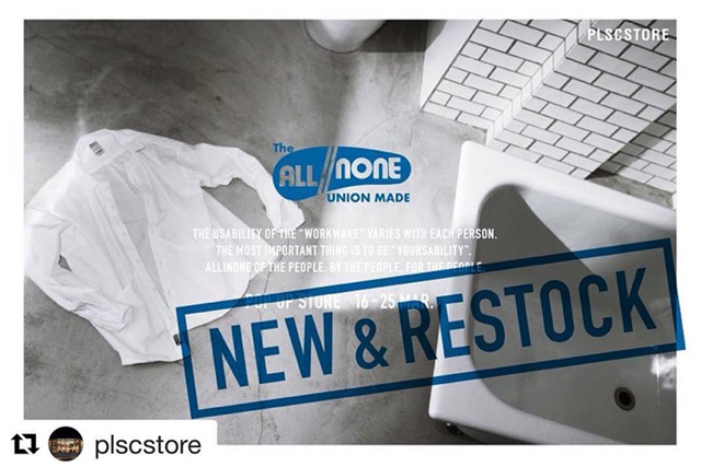 allinone(オールインワン)POPUP STORE at PLSC STORE in 長崎