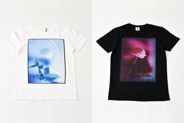 WORKS & LABO.(ワークス&ラボ)ROSE Tシャツ(写真:for a little beauty)