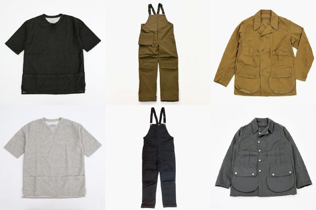 Senelier(セネリエ)TOOLBOX JACKET、H.R gimmicks overalls、Y-WALLET FAKE SWEAT DENIM OVER SHIRT