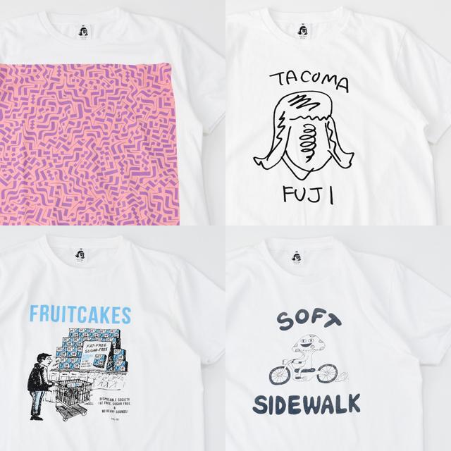 Tacoma Fuji Records (タコマフジレコード)Tシャツ 12th Collection 2018