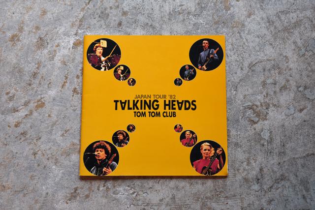 TALKING HEADS / TOM TOM CLUB JAPAN TOUR '82