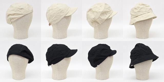 Decho(デコー)BERET, CYCLING CAP, CASQUETTE, METRO HAT(オーガニックコットン/リネン)