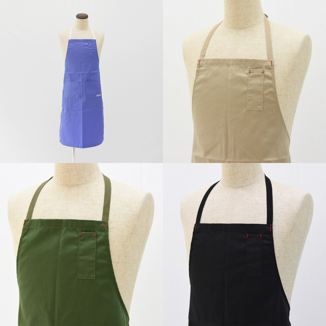 Napron Blue Label(ナプロン・ブルーレーベル)T/C 4 POCKET FULL APRON