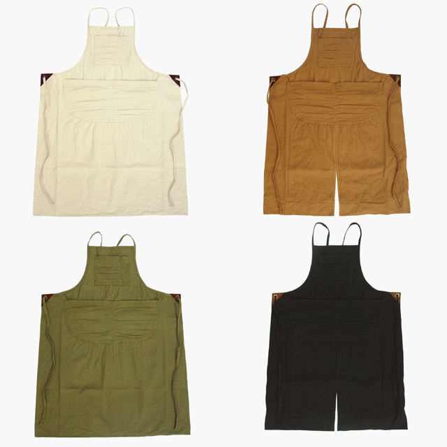 UTO(ユート)M-71 WORK APRON、DOUBLE KNEE WORK APRON