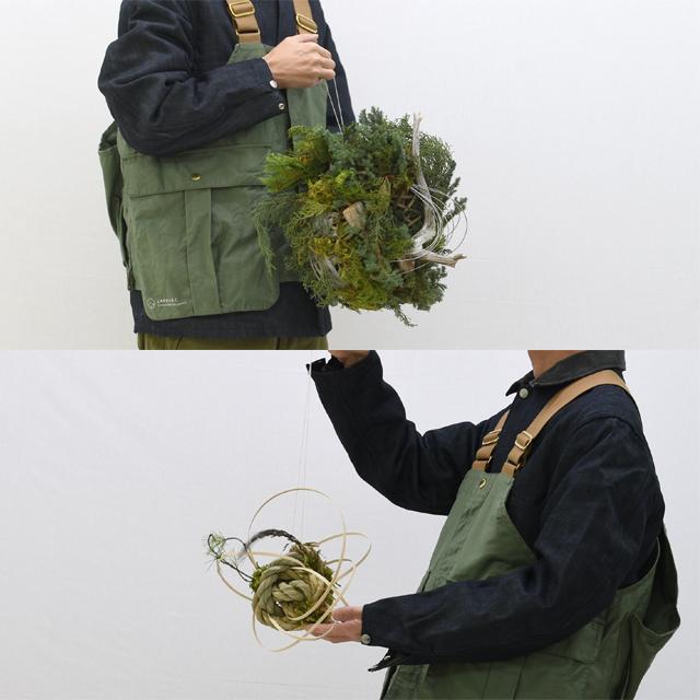 冬のリースとしめ縄飾りver.3、こんなサイズ感