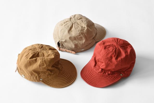 Decho(デコー)SHALLOW KOME CAP(高密度ポプリン)