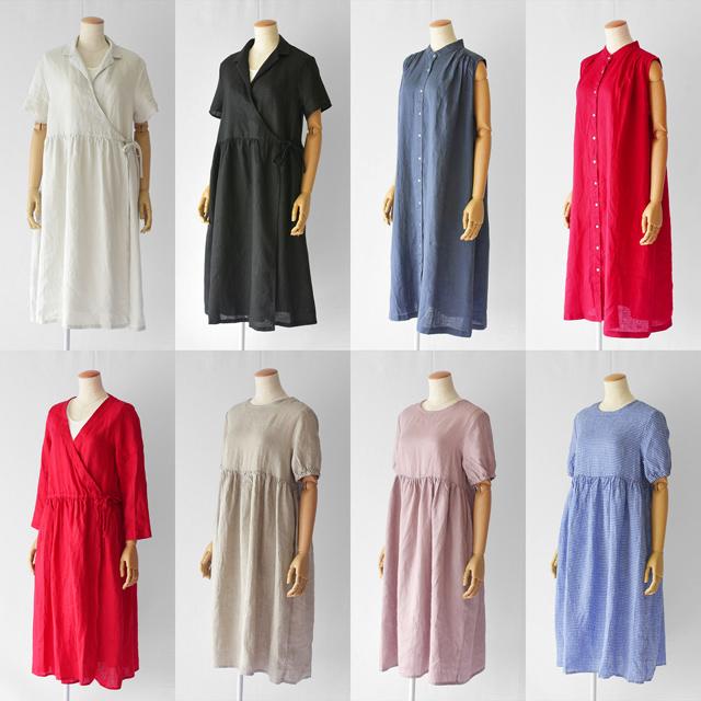 fog linen work(フォグリネンワーク)夏物リネンの洋服