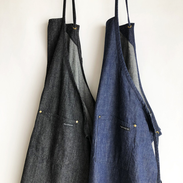 Napron(ナプロン)DENIM CRAFT APRON