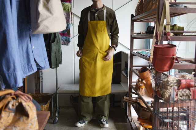 Napron(ナプロン)4POCKET CANVAS FULL APRON