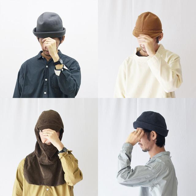 DECHO(デコー)メルトン、ウール、コーデュロイ秋冬新作帽子