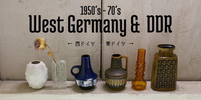 1950s-70s West Germany & DDR