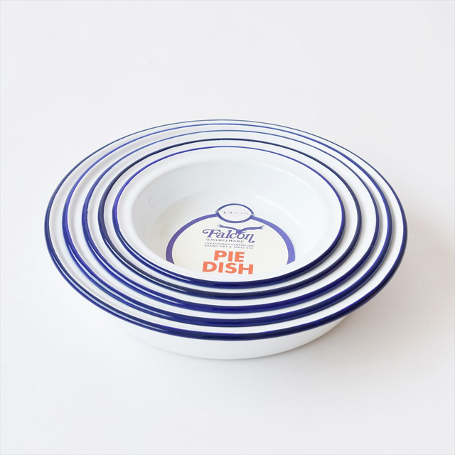 Enamel Pie Dish (set of 5) - Falcon, UK(琺瑯パイ皿)