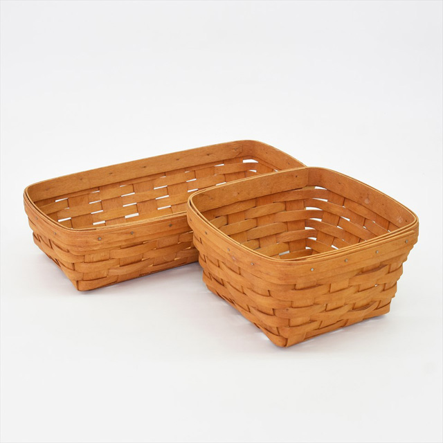 Handwoven Maple Berry Basket - Longaberger, USA