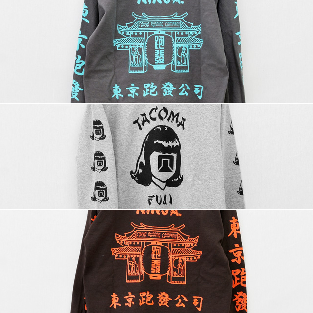 Tacoma Fuji Records(タコマフジレコード)2020ssロングスリーブTシャツ